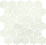 alabastro hexagon bianco